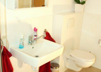 Monteurwohnung 2 Toilette